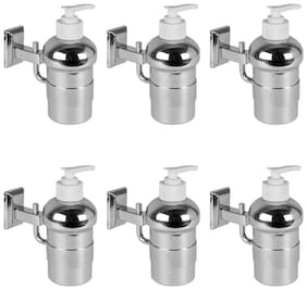 Doyours Liquid Soap Dispenser in Stainless Steel Glossy - 6 pcs