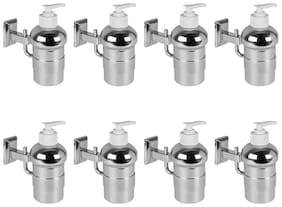 Doyours Liquid Soap Dispenser in Stainless Steel Glossy - 8 pcs
