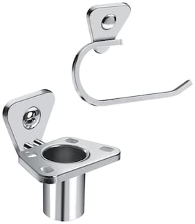 Doyours Stainless Steel Tooth Brush Holder, Towel Ring