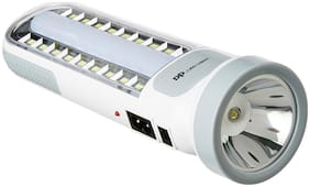 DP 7102 5.8-W Emergency Light with Torch (White) BT ROCK SALES