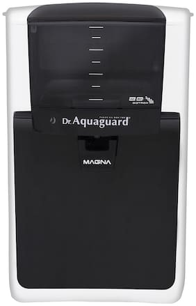 Dr. Aquaguard Magna HD RO Water Purifier (Black & White)