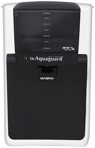 Dr. Aquaguard Magna HD RO Water Purifier (Black & White)