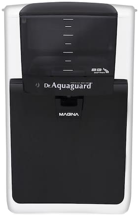 Dr. Aquaguard Magna NXT HD RO Water Purifier (Black & White)