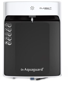 Dr. Aquaguard Classic+ Water Purifier with Booster Pump (Black & White)