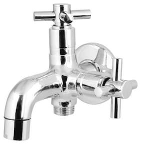 Dr. Homz N Kitch Wall Mount Brass Wall Taps ( Knob Controlled )
