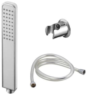 Dr. Homz N Kitch-Rust Free Hand Shower With 1.5 Meter Stainless Steel Hose And Hook