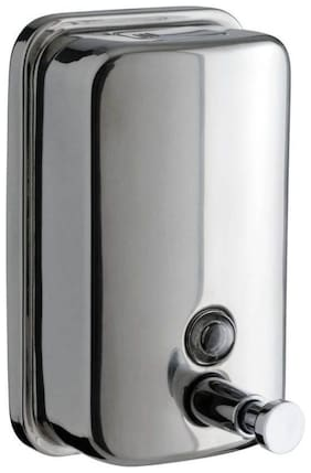 Dr. Homz N Kitch (350 Ml) Bathroom Wall Mounted Stainless Steel Liquid Soap Dispenser