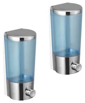 Dr. Homz N Kitch (350 ML) Bathroom Wall Mounted liquid soap Dispenser set of 2
