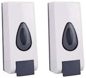 Dr. Homz N Kitch- (350 ML)Clean Magic Bathroom Wall Mounted liquid soap Dispenser (Set of 2)