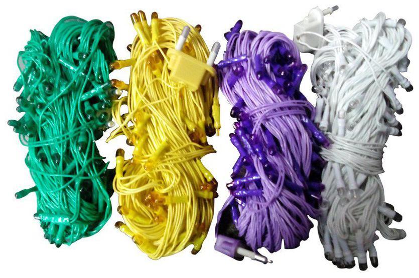 Drav Decorative Rice String Light 4 Meter (Pack of 4, Multicolour)