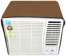 Dream Care Beige Colored Waterproof and Dustproof Window AC Cover for Voltas 102 PY Premium Y Series AC 0.75 Ton 2 Star Rating