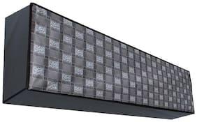 Dream Care Classic Grey Printed AC Cover for Blue Star BI-5HW18ZCRX 1.5 Ton 5 star Split IN Unit