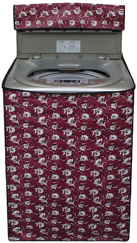 Dream Care Printed Washing Machine Cover For Fully Automatic Top Load 6 kg to 6.5 kg - All Brand Model