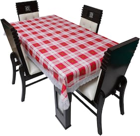Dream Care Printed Waterproof Dinning Table Cover 4 Seater / 4 Seater Dinning Table Cover Plastic;Size 52x76 Inch;CA09