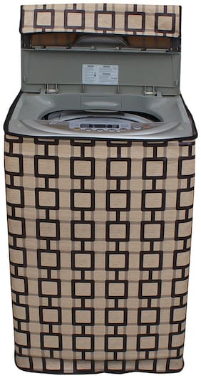Dream Care Waterproof Printed Washing Machine Cover For Fully Automatic Top Loading IFB TL- RCG 6.5 kg Aqua
