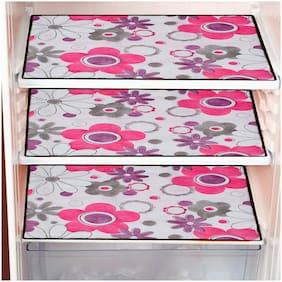 Dream Care Waterproof PVC Refrigerator Drawer Mat Pack of 3