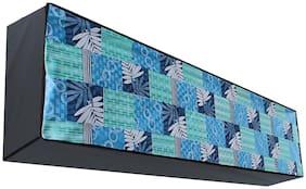 Dream Care Waterproof Multicolor Printed AC Cover for Voltas 185JY/183JZJ1 1.5 Ton 3 star split in Unit Product Dimension (LxWxH)::(23 cm (9 inch) x 109 cm (43 inch) x 30 cm(12 inch))