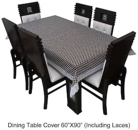 Dream CareTM Designer Waterproof Dining Table Cover 6 Seater 152.4 cm (60 inch) x 228.6 cm (90 inch) inch SAMS28