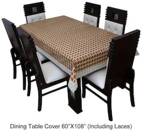 Dream CareTM Designer Waterproof Dining Table Cover 8 Seater 152.4 cm (60 inch) x 274.32 cm (108 inch) SAMS06