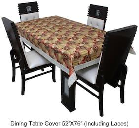 Dream CareTM Designer Waterproof Dining Table Cover 4 Seater 132.08 cm (52 inch) x 193.04 cm (76 inch)SAMS01
