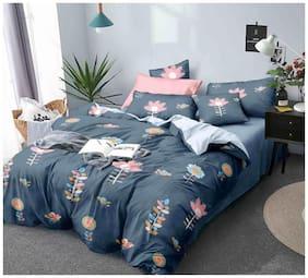 DREAM LIVING Double  Bed AC-Comforter 125TC Multi FLORAL Print