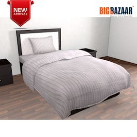 Dreamline Brown Single Bed Cover 2 PC SET
