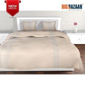 Dreamline Cream Double Bed Cover 3 PC SET