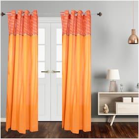 Dreamline Motif Decorative Sheer Readymade 7Ft Door Curtain