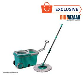 Dreamline Elite Super Wheels Magic Mop Bucket with Extra Mop Refill