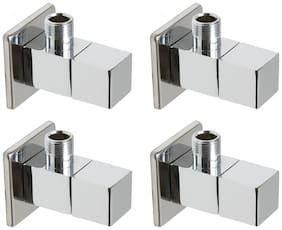 Drizzle Angle Cock Square Brass  - Set of 4