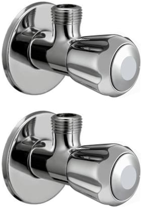 Drizzle CONTY ANGLE VALVE STOP COCK Wall Mount Brass Wall Taps ( Handle Controlled )