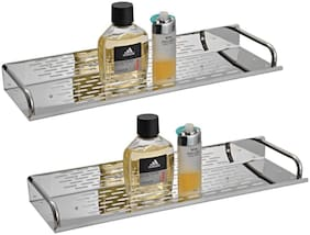 Drizzle Shelves Stainless Steel - Set Of 2