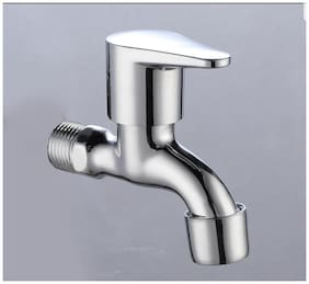 Drizzle Wall Mount Brass Wall Taps ( Handle Controlled )