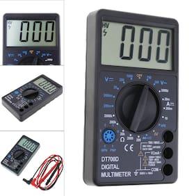 DT700D LCD Digital Multimeter DC AC Voltage Diode Freguency Multitester