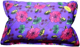 Duckback Multicolor Floral Travel Air Pillow Violet