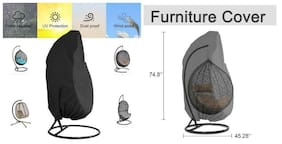 Durable Large Egg Swing Chair Waterproof Outdoor Single Swing Egg Chair Cover
