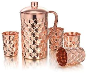DVM 1250 ml Copper Jugs - Set of 5