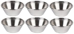 Dynamic Store Set Of 6 Sauce Cup - 45 Ml Each