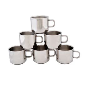 Dynamic Store Set Of 6 Double Wall Tea Cups