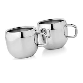 Dynamic Store Set Of 2 Double Wall Apple Cups