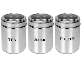 Dynamic Store See Through Canisters - Set Of 3