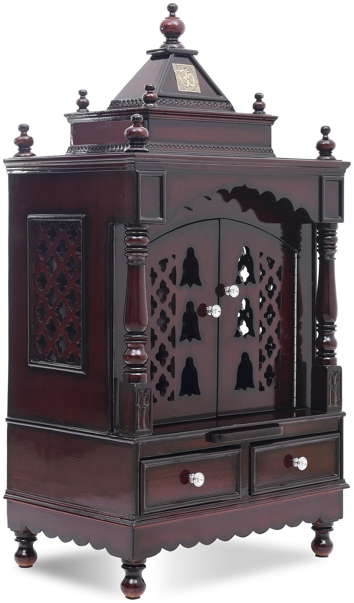 Dzyn Furnitures Solid Teak Wood Home Temple