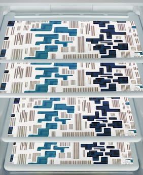 E-Retailer Waterproof PVC Fridge Mats/Drawer Mats/Multi Purpose Use Mats -Pack of 4