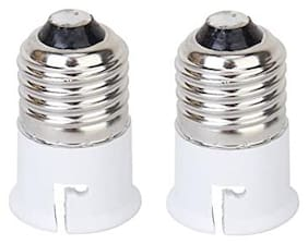 E27-B22 Holder Converter. Converter Holder used in light fittings and for decorative bulbs.
