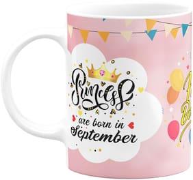 Eagletail India Princesses are Born in September Ceramic Coffee Mug 613