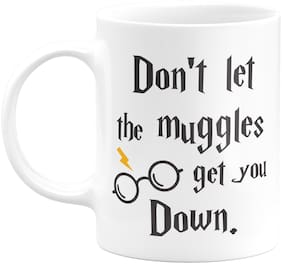 Eagletail India Harry Potter Don let The Muggles get You Down Ceramic Coffee Mug