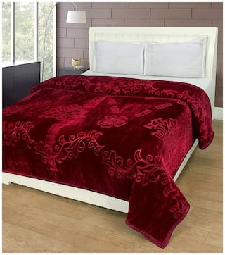 Earth Ro System Double Bed kambal Premium Polyester Printed kambal