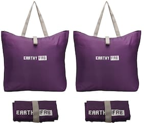 Earthy Fab Shopping Bags for Grocery Set of 2