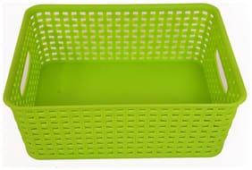 Easy Life   Elegant Basket Big Green plastic