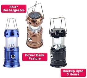 Eco Hometown LED Solar Emergency Light Bulb (Lantern) - Travel Camping Lantern - Assorted Colours